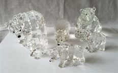 Swarovski - bears and polar bears