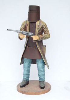 Unique picture of Ned. Kelly Height 135 cm