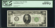 USA - 20 dollars E-1934A Mule - Federal Reserve Note - Friedberg 2055m