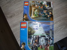 Harry Potter - 4752 - 4754 - Professor Lupin's Classroom + Hagrid's Hut (2nd edition).
