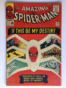 Marvel Comics - The Amazing Spider-Man #31 - first appearance Gwen Stacy & Harry Osborn - 1x sc - (1965)
