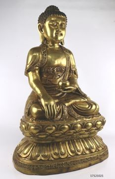 Large Buddha statue - China - 2nd half 20th century (56 cm)