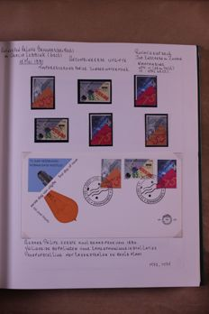 Netherlands 1991/1999 - Collection of covers, postal items and stamps in 6 Victoria blank albums