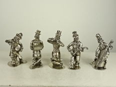 Silver clown orchestra, Spain, after 1934