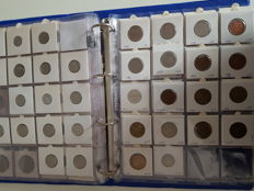 World - Lot of coins from all over the world (152 items)