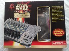 Star Wars Chess Set - Electronic - Tiger Electronics-Episode I Galactic