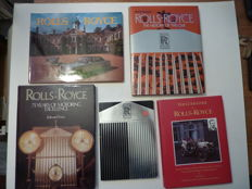 5 Books on Rolls- Royce - 1984 to 1993