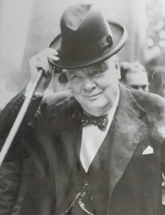 Unknown - Winston Churchill, 1952/54