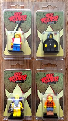 Lego - Mini figures Red Ryder 4x - complete set - 2017