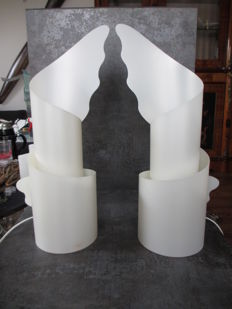 Riccardo Raco for Slamp by Samuel Parker - pair of table lamps
