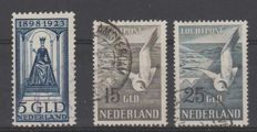 The Netherlands 1923/1951 - Government anniversary and Airmail Seagulls - NVPH 131 + LP12/LP13