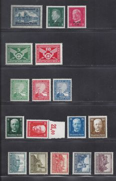 German Empire 1925/1935 - Various issues - Michel 370/371, 372/374, 403/406, 440, 444/445, 474/478 + 540/543