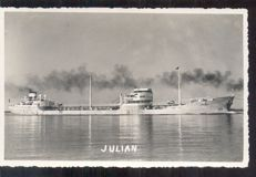 Boats-steamers-tankers-119 postcards, including picture postcards