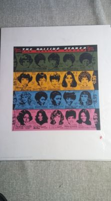 The Rolling Stones off set litho Some Girls