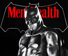 Batman - Original Drawing - Men's Health Magazine Cover - Diego Septiembre