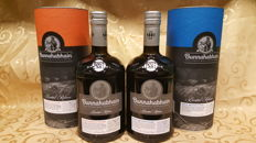 "2 bottles - Bunnahabhain 2004 Moine ""Brandy Finish"" Cask Strength and bunnahabhain 2003 ""PX cask finish"" Cask Strength"