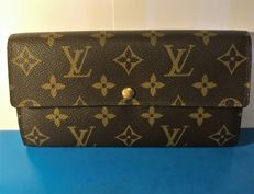 "Louis Vuitton - ""Sarah"" Wallet Limited Edition (Floral inside)"