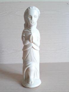 Antique ivory statue of an angel - Goa - Circa 1900