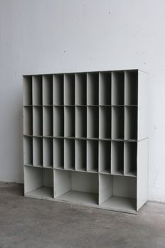 Designer unknown - Steel post sorting cabinets PTT