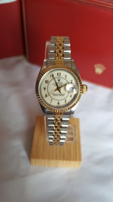 Rolex - Oyster Perpetual Datejust Superlative - 69173 - For women - 1980-1989