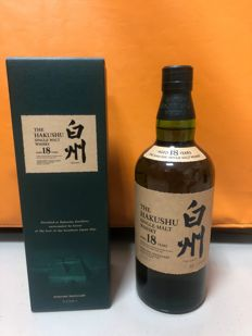 Suntory The Hakushu 18 Year Old Single Malt Whisky