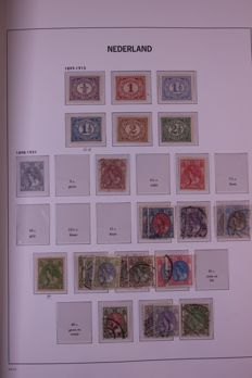 The Netherlands 1899/1969 - collection in 2 Davo LX preprint albums