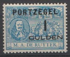 The Netherlands 1907 - Port stamp De Ruyter - NVPH P43, with inspection certificate