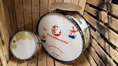 Vintage Traditional Series Bass Drum and drum snare