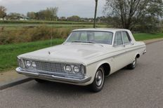 Plymouth - Fury Slant Six 4 dr Sedan-1963