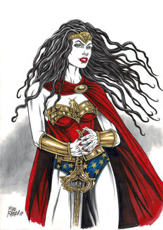 Ratera, Mike - Original Drawing - Wonder Woman