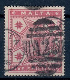 British Commonwealth 1870/1970 - Collection of Malta and Cyprus on album sheets