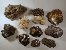 Beautiful large Mineral Collection from Trepca, Kosovo - 4577 g (11)