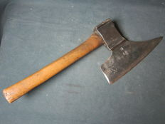 Forged iron cleaver - Germany - circa 1800