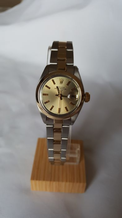 cb8f85971ae Rolex - Oyster Perpetual Date - Modelo 6916 - año 1978 - 5539800 - Mujer -  1970 - 1979