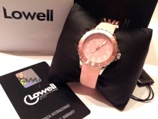 Professional DAY DATE Ø 35 mm Pink - LOWELL - Italy 2005 - Women's - NEW