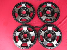 Aluminium rims, 3-piece PLS Le Mans 8x15 ET-2 and 9x15 ET-3 LK 100