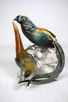 Karl Ens - sculpture of a pair of birds