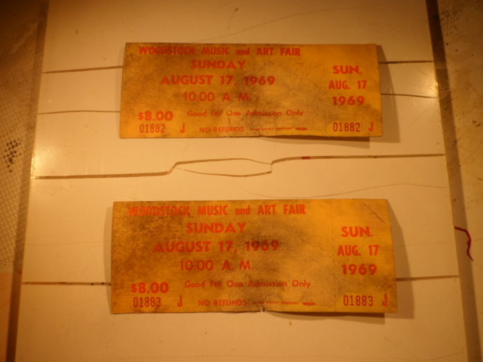 Two Woodstock Day Ticket