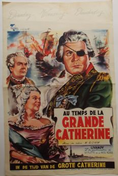 Posters; Lot with 39 vintage posters of films for all ages - 50s/70s