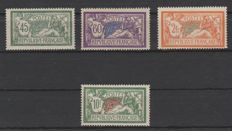 France 1907/1926 - Type Merson - Yvert 143/145 and 207