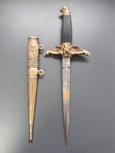 Officer dagger- Aviation dagger model 1932 - Hungary, fascist period - Miklos Horthy