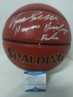Original Spalding basketball with the signature of NBA legend Dominique Wilkins, with authenticity certificate Beckett