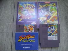 Lot of 2 Nintendo NES games - DuckTales 1 & 2 - Full Duology