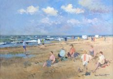 Van Noort (20th century) - Beach fun