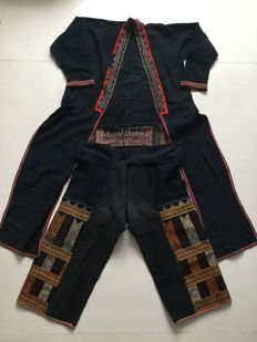 Men's Jacket and Pants - Hmong - mid 20th Century
