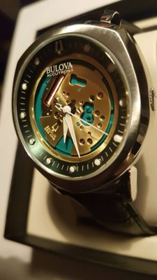 Bulova - ACCUTRON 2 Alpha PRECISIONIST SKELETON Collection - 96A155 - 男士 - 2011至现在