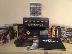 DEFIANCE PS3 Limited Edition Collectors Boxset + 10 Massive PS3 Games Including Grand Theft Auto IV, Uncharted 3 & Lots More
