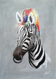 DZM - Punk rock Zebra