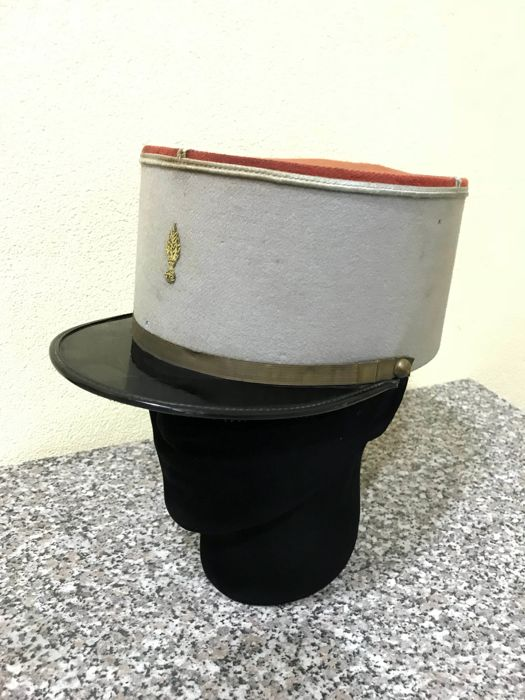 Sky blue kepi of officer SPAHIS colonial troops