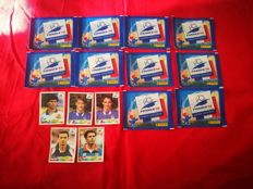 Panini - World Cup France 98 - 10 sachets + 5 stickers.